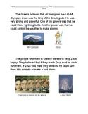 Ancient Greece: Zeus