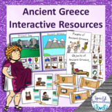 Ancient Greece adapted resources file folder game, interac