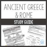 Ancient Greece and Ancient Rome Study Guide
