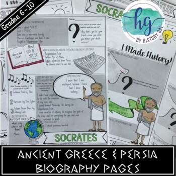 Ancient Greece and Persia Biography Pages