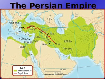Ancient Greece Map Persian Empire.Ancient Greece And Persian Empire Ppt By David Bennett Tpt