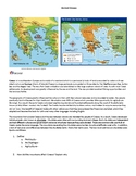 Ancient Greece and Roman worksheets and activities