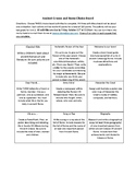 Ancient Greece and Rome Choice Board With Rubric
