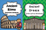 Ancient Greece and Rome Interactive Notebook Bundle
