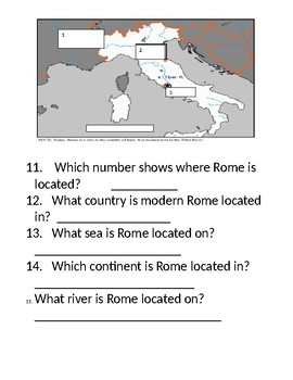 Ancient Greece and Rome Quiz