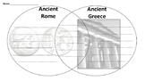Ancient Greece and Rome Venn Diagram