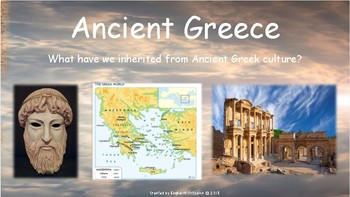 Ancient Greece cultural legacy Powerpoint Presentation