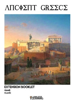 Ancient Greece extension booklet
