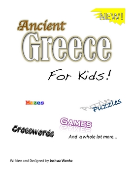 Ancient Greece for Kids Workbook