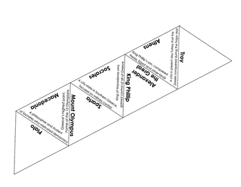 Ancient Greece people and places puzzle (S.S. new framework aligned)