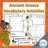Ancient Greece vocabulary activities