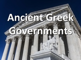 Ancient Greece vs. Modern Governments Chart
