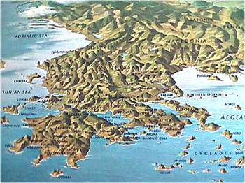 Ancient Greece's Geographical Impact: Lesson and Essay Assessment