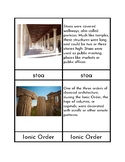 Ancient Greek Architecture - Three/Four Part Cards
