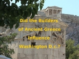 Ancient Greek Architecture and Washington D.C.