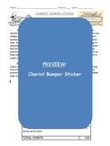 Ancient Greek Chariot Bumper Sticker Project