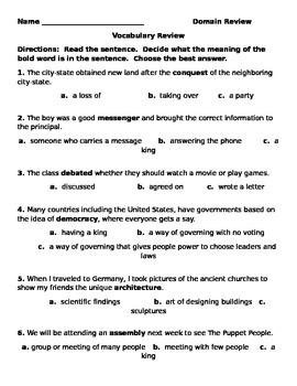Ancient Greek Civilization Assessment Practice