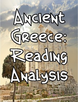 Ancient Greek Culture: Reading Analysis