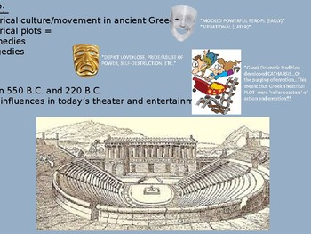 Ancient Greek Drama PPT Presentation