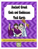 Ancient Greek Gods and Goddesses Task Cards