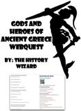 Mythology: Ancient Greek Gods and Heroes Webquest