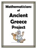 ANCIENT GREEK MATHEMATICIANS