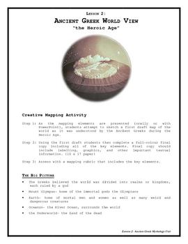 Ancient Greek Mythology- Lesson 2 Ancient Greek World View