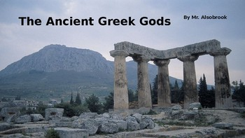 Ancient Greek Mythology Ultimate Power Point Lesson