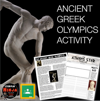 Ancient Greek Olympics Activity (Greece)