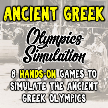 Ancient Greek Olympics Simulation - 8 Hands On Games!