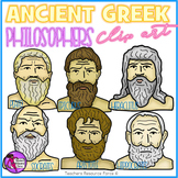 Ancient Greek Philosophers clip art
