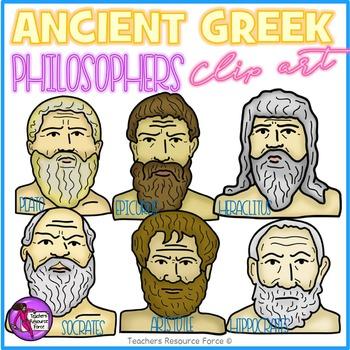 Ancient Greek Philosophers clip art