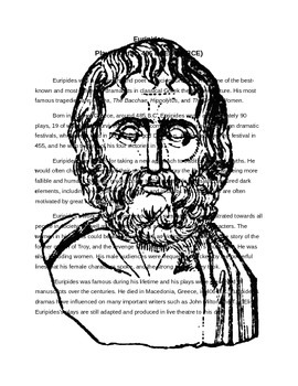 Ancient Greek Playwrite Notes and Quiz: Euripides
