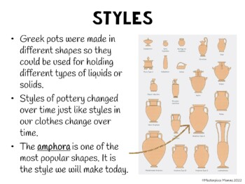 Ancient Greek Pottery: A Color Mixing and Symmetry Lesson