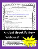 Ancient Greek Pottery Webquest