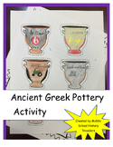 Ancient Greek Pottery Webquest and flip book