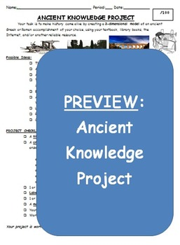 Ancient Greek & Roman Knowledge Project