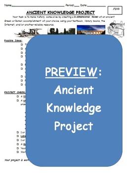 Ancient Greek & Roman Knowledge Project