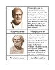 Ancient Greek Scientists & Philosophers - Three/Four Part Cards