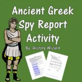 Ancient Greek Spy Report Activity