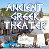 Ancient Greek Theater Notes Presentations & Quiz
