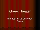 Ancient Greek Theater and Classical Tragedy Background PowerPoint Lecture