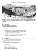 Ancient Greek Theater and Freud's Psychoanalysis Research