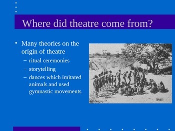 Ancient Greek Theatre powerpoint