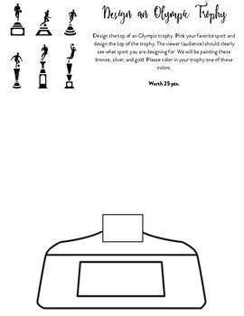Ancient Greek Trophy Design Sheet