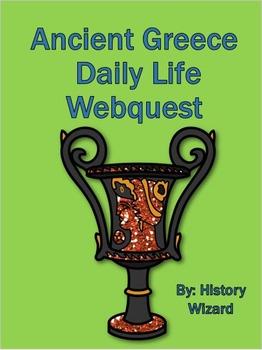 Ancient Greek Daily Life Webquest