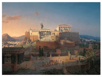 Ancient Greek World Athens Review/Quiz