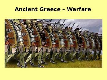 Ancient Greek World Warfare History and Quiz