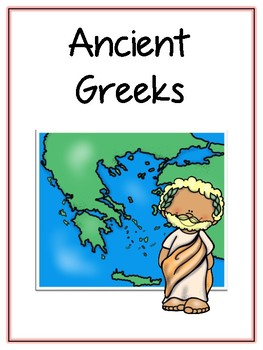 Ancient Greeks Writing Word Thematic Folder - Picture Word Wall