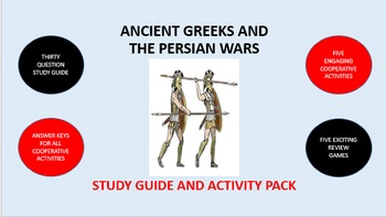 Ancient Greeks and the Persian Wars: Study Guide and Activity Pack
